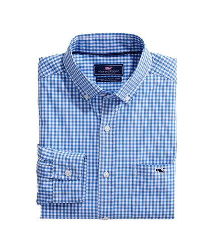 Vineyard Vines Arawak Gingham Tucker  | Classic Fit
