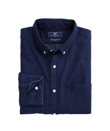 Vineyard Vines Indigo Dobby Murray | Slim Fit