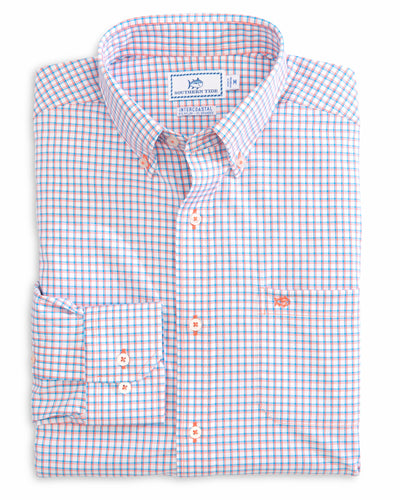 Southern Tide Awash Check Intercoastal Performance | Mango