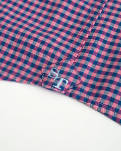 Southern Tide Channel Marker Gingham | Sunkist Coral