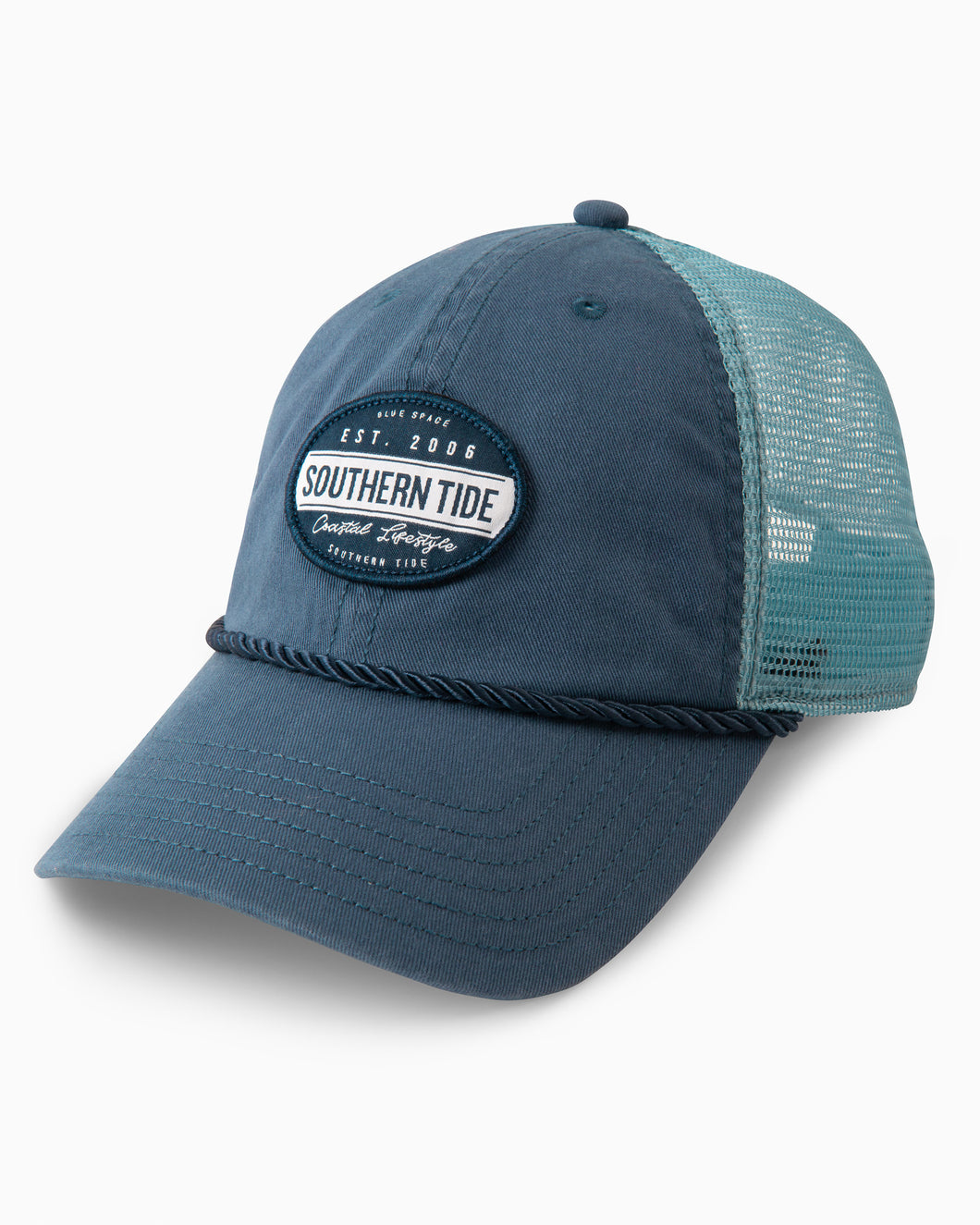 Southern Tide Coastal Lifestyle Patch Trucker Hat | Blue