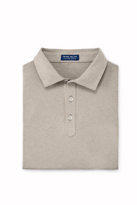 Peter Millar Crown Crafted Ace Polo - Argil