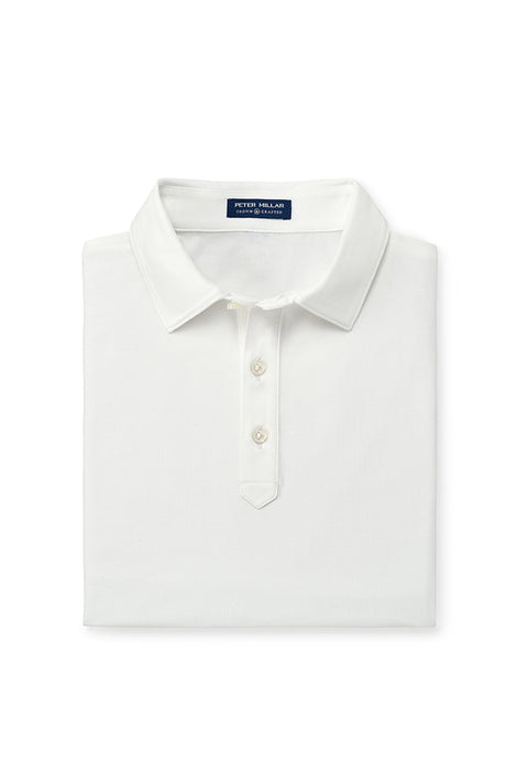 Peter Millar Crown Crafted Ace Polo - White