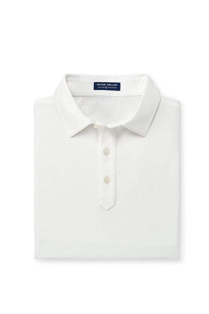 Peter Millar Crown Crafted Ace Polo | White