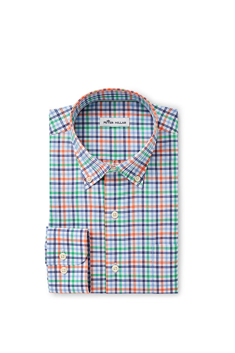 Peter Millar Branson Sport Shirt - Cottage Blue