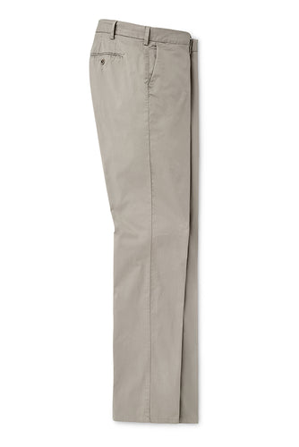 Peter Millar Crown Soft Flat Front Trouser | Gale Grey