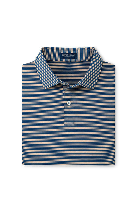 Peter Millar Coltrane Performance Polo - Blue Agate