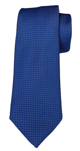 JZ RICHARDS Blue Tie with Matching Stitching