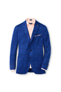 Peter Millar Collection Sails Jersey Soft Jacket | Starlight Blue