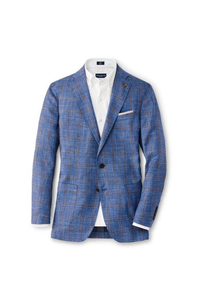 Peter Millar Collection Rue Soft Jacket | Blue