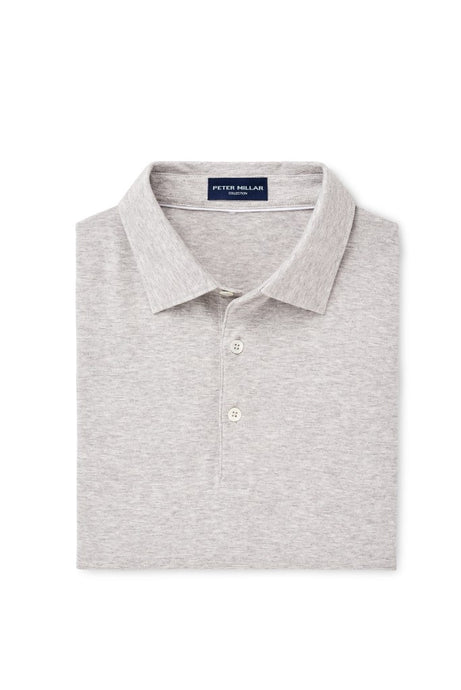 Peter Millar Collection Excursionist Flex Polo - Argento