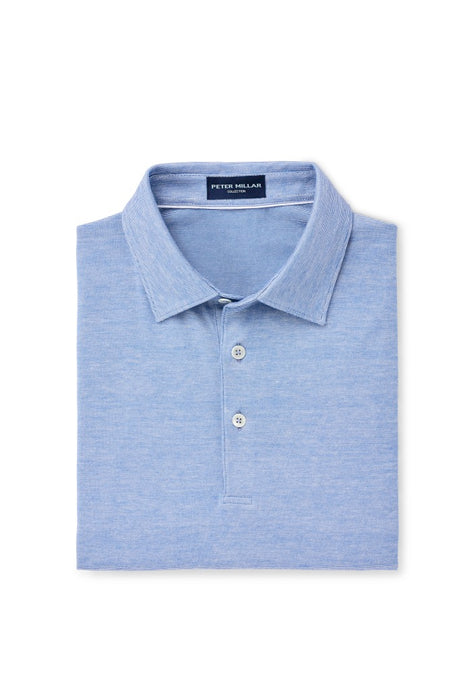 Peter Millar Collection Excursionist Flex Polo - Avio Blue