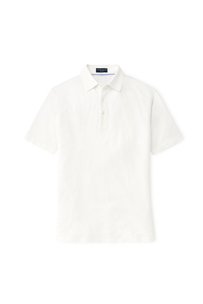 Peter Millar Collection Excursionist Flex Polo - White