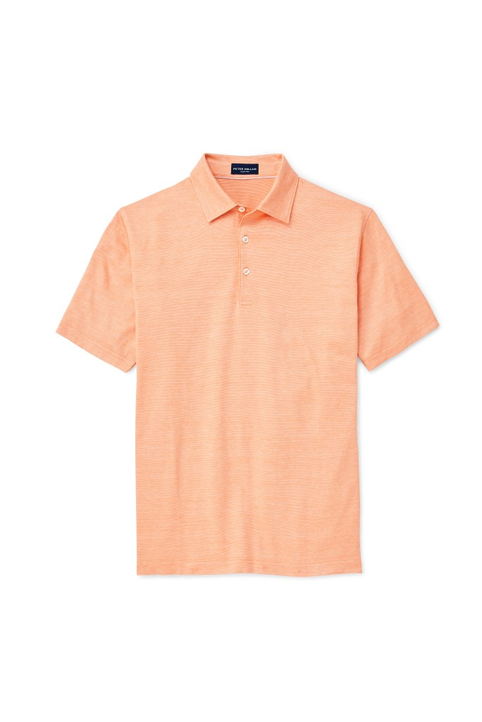 Peter Millar Collection Excursionist Flex Polo | Mandarine