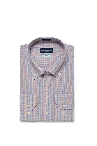 Peter Millar Collection Musée Cotton Sport Shirt | Menthe
