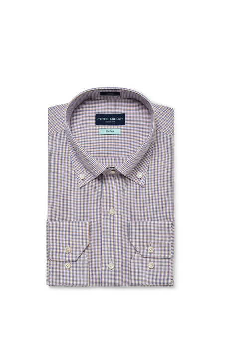 Peter Millar Collection Musée Cotton Sport Shirt - Menthe