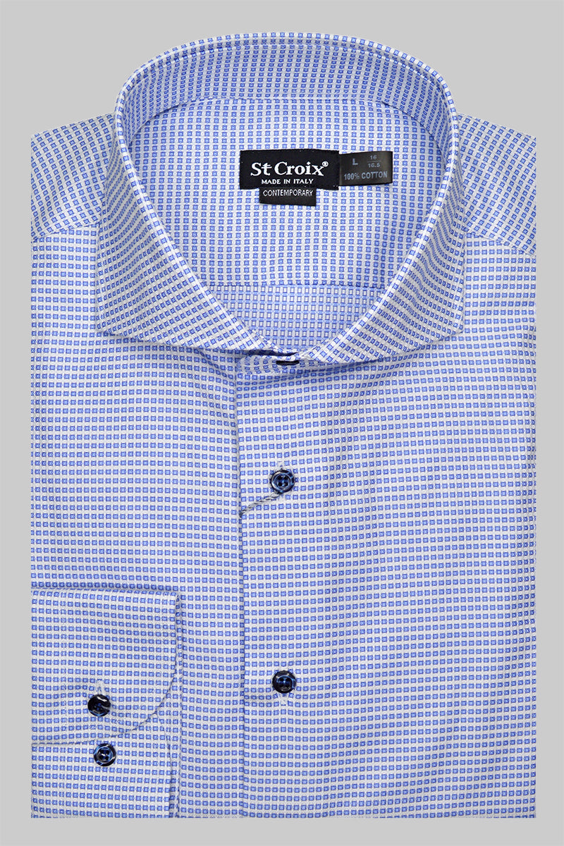 St. Croix Widespread Box Pattern | Blue
