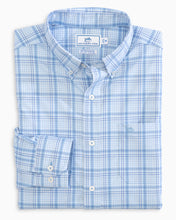 Southern Tide Abound Plaid Intercoatal Performance | Sky Blue