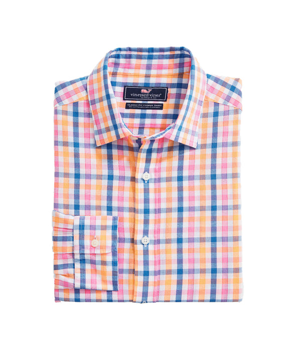 Vineyard Vines Orange Grove Cooper  | Classic Fit