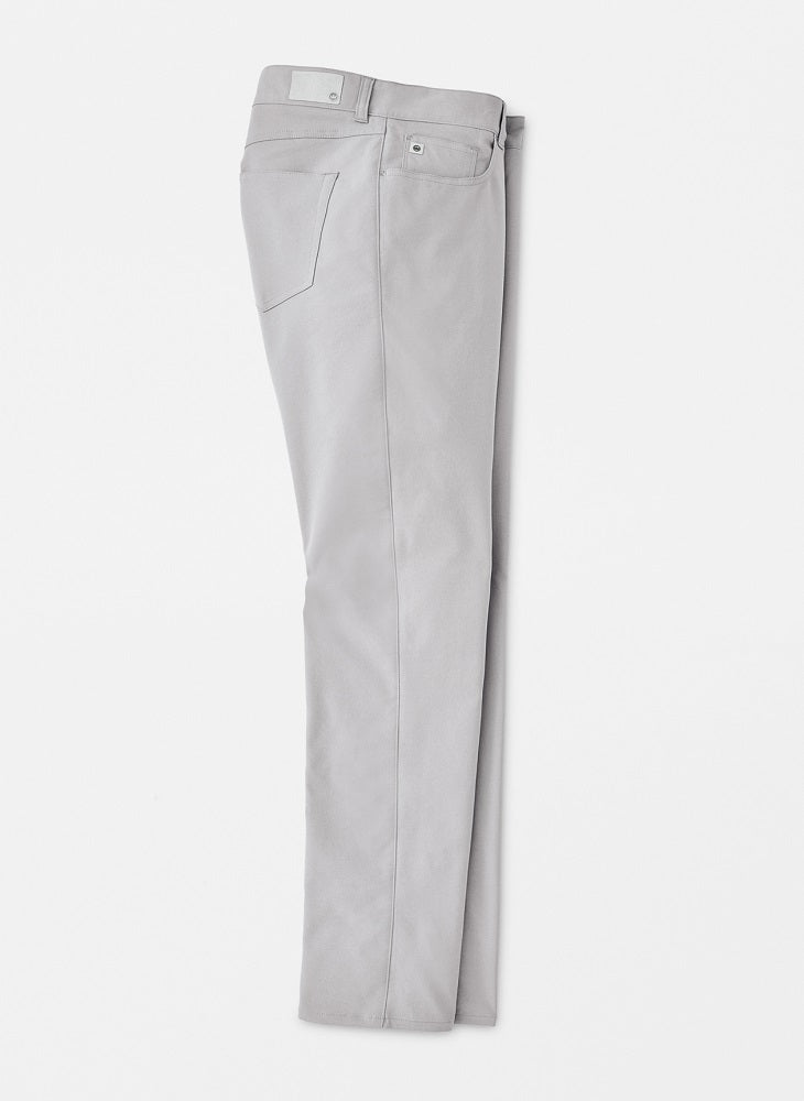 Peter Millar Crown Sport Performance 5-Pocket Pants - Gale Grey