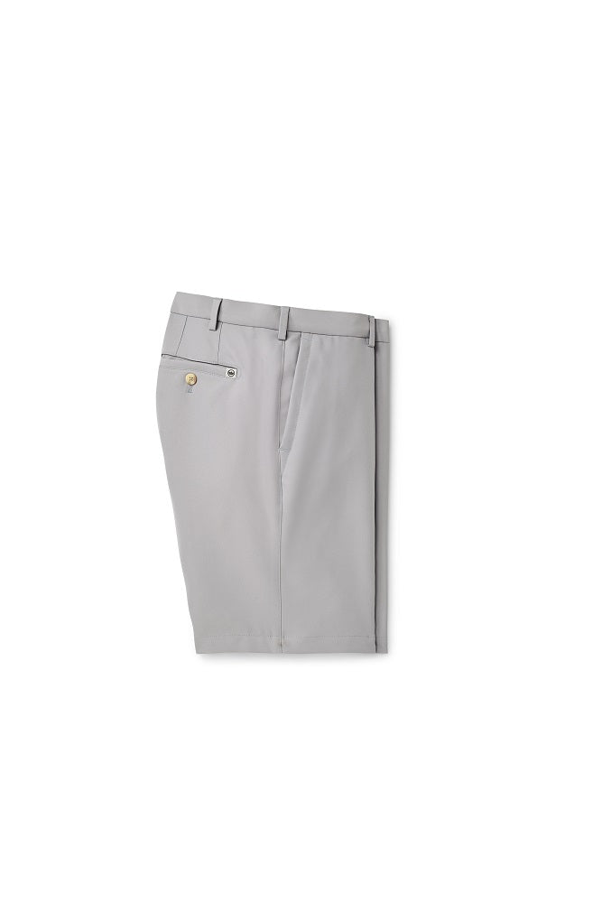 Peter Millar Salem High Drape Performance Short | Gale Grey