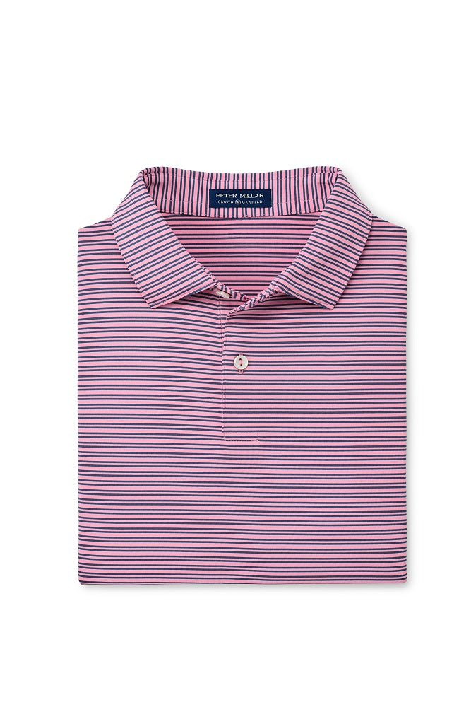 Peter Millar Coltrane Performance Polo | Spring Blossom