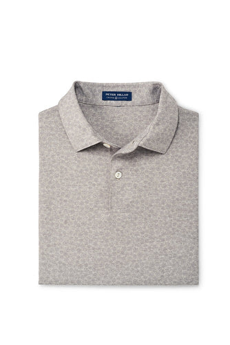 Peter Millar Sunday Performance Polo | Gale Grey