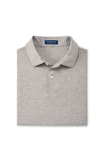 Peter Millar Sunday Performance Polo - Gale Grey