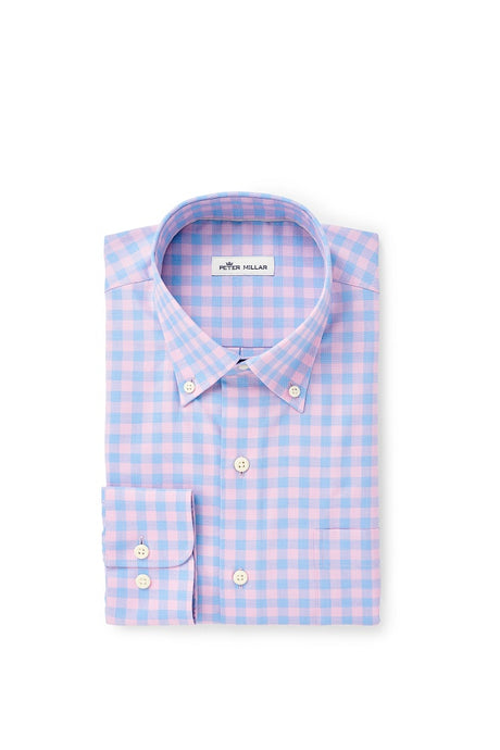 Peter Millar Crown Ease Garrett Sport Shirt - Lantana