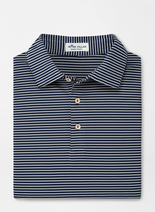 Peter Millar Grace Performance Polo - Navy