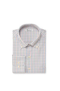 Peter Millar Nash Performance Sport Shirt - White