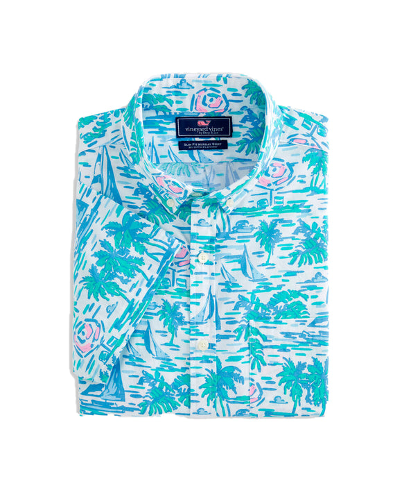 Vineyard Vines Ocean Terrace Murray Shirt | Slim Fit