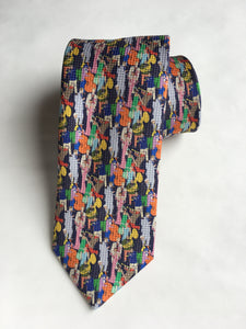 Eton Jazz People Tie | Multi Color