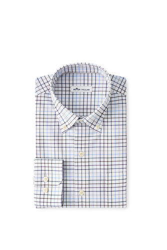 Peter Millar Simon Cotton-Blend Sport Shirt