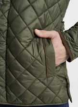 Peter Millar Suffolk Quilted Travel Coat-Olive