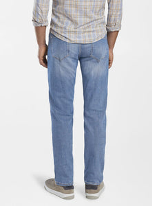 Peter Millar Collection Stone Washed Five-Pocket Denim