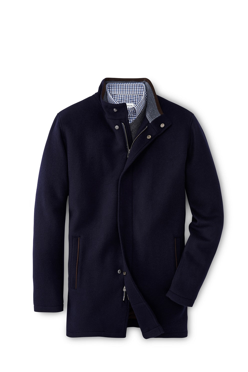 Peter Millar Crown Flex-Fleece City Coat