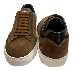 Lo White-Rusty Brown Sneaker