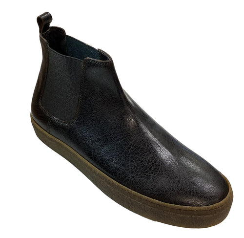 Lo White-Chocolate Brown Chelsea Boot
