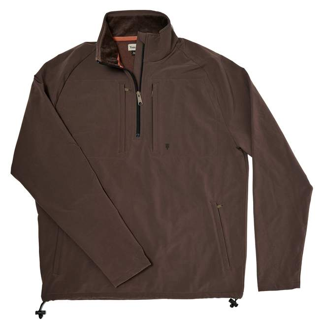 Tom Beckbe Performance Fleece Quarter Zip