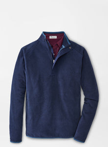 Peter Millar Cloudglow Micro Fleece Half-Zip-Solid Color