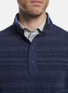 Peter Millar Cloudglow Micro Fleece Half-Zip-Pattern