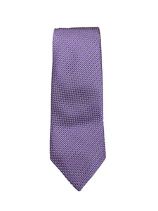 JZ RICHARDS Lavender Tie with Cross Stitching