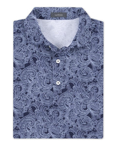 TURTLESON Ace Bandana Performance Pique Polo