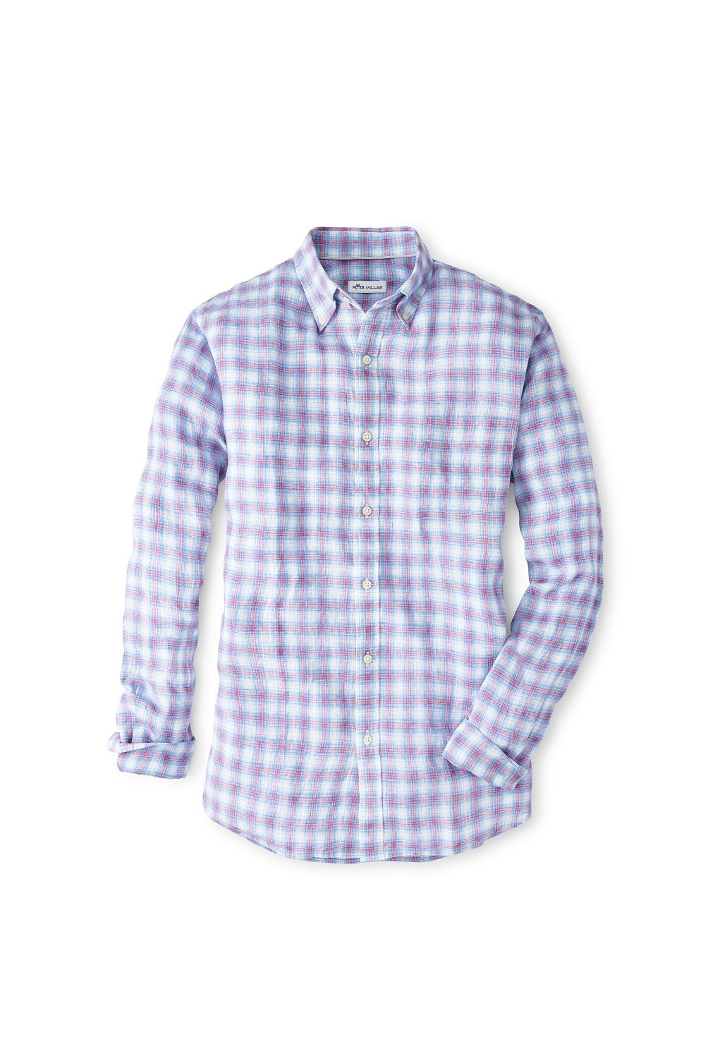 Peter Millar Summer Bay Linen Sport Shirt