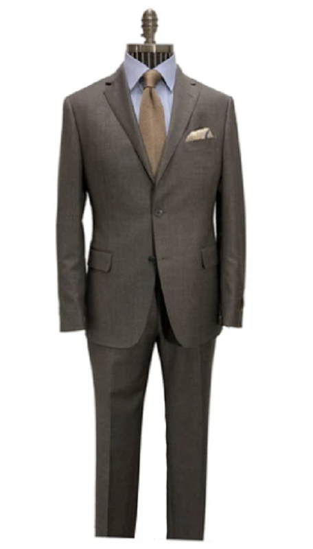 h by Hickey Freeman H Suit-Brown
