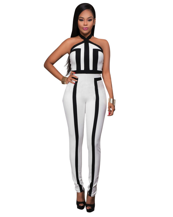 VIVAO Classy Casual Jumpsuit - 1 Pair 3D Magnetic False Eyelashes