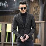 VIVAO - Men's Casual Slim Fit Blazer - Mixed Color - 1 Pair 3D Magnetic False Eyelashes