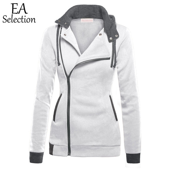 VIVAO - EA Selection Casual Slim Fit Sweatshirts Women's V-Neck Hoodies - 1 Pair 3D Magnetic False Eyelashes