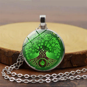 Moonrise Tree Of Life Pendant - Necklace - PurpliKi